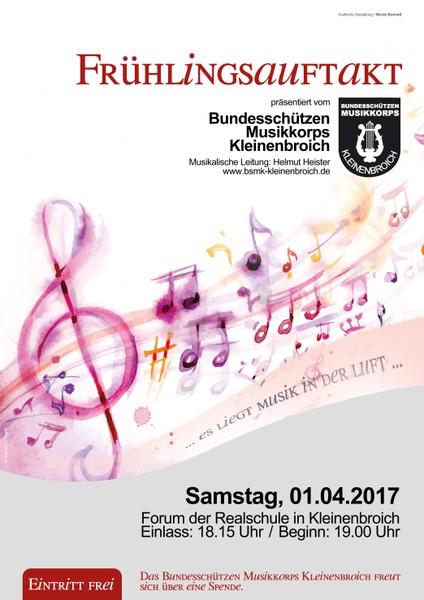 Frühjahrskonzert des BSMK 2017