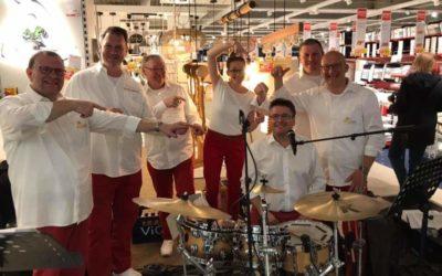 """Thomas Huesges – Neuer Schlagzeuger bei """"Die Kleinenbroicher"""""""